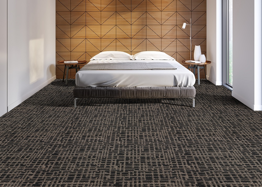 Installing carpet in your hotel